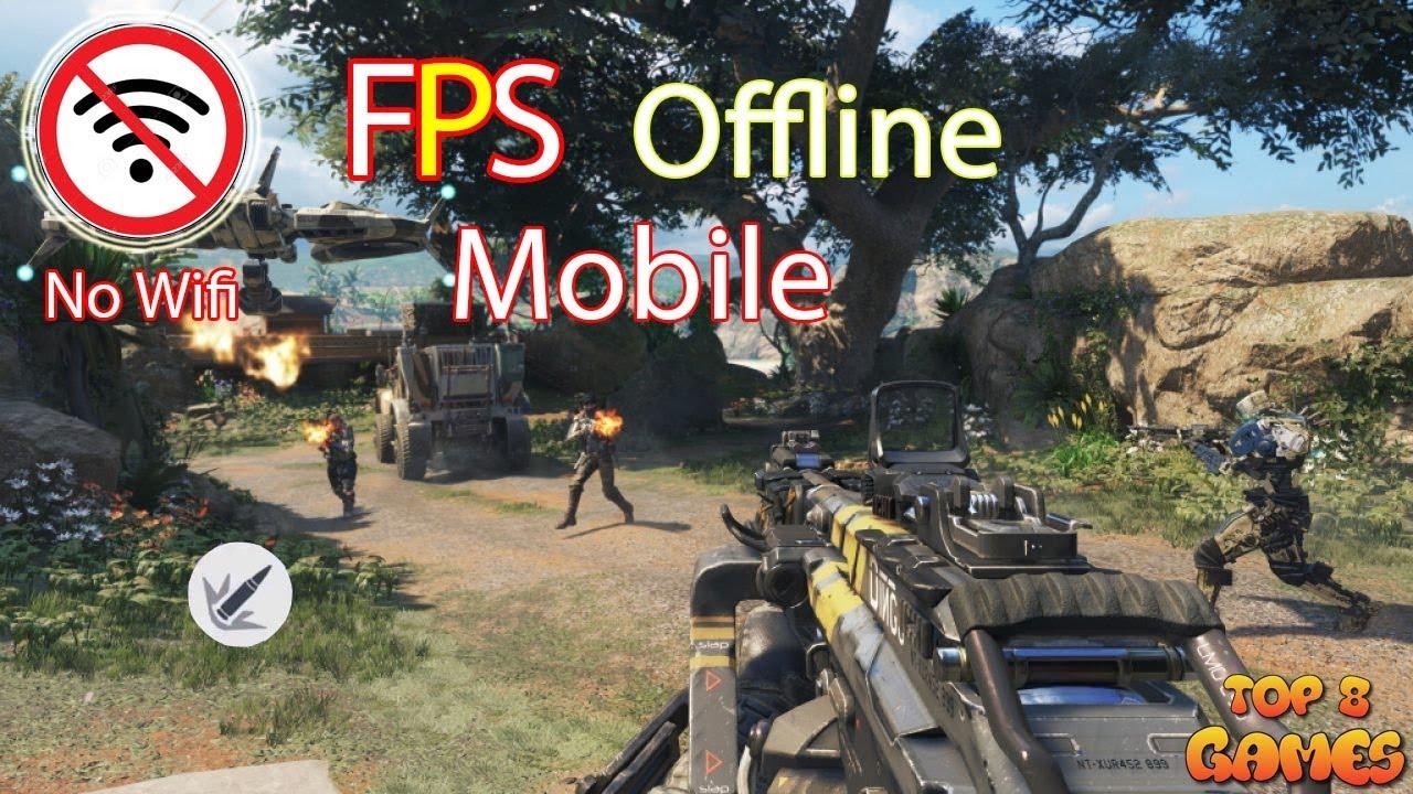 TOP 8 tựa game FPS offline(Android/IOS) 2019 không cần mạng(P.1)