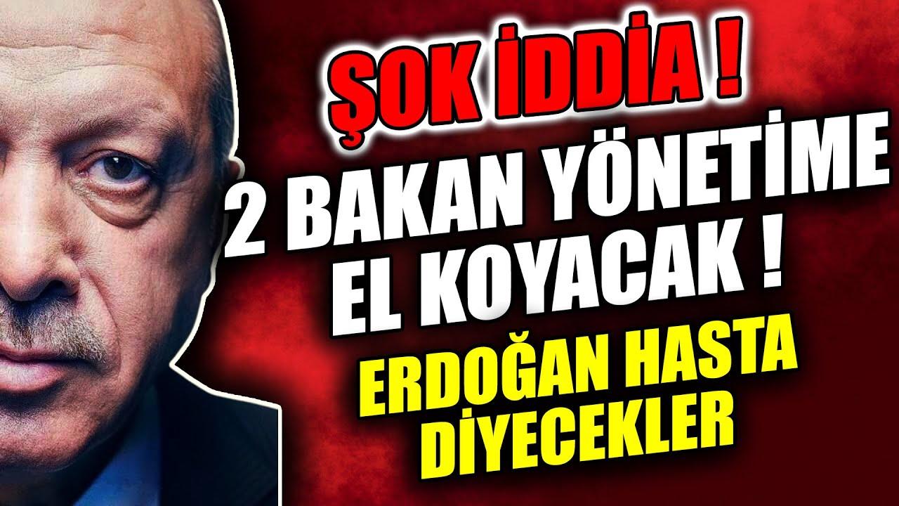 Şok İddia! Erdoğan'ı hasta gösterip, yönetimi ele geçirecekler   Son Dakika