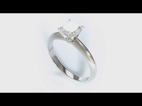 1 Carat Diamond Ring - Custom Engagement Rings