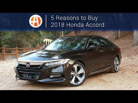 2018 Honda Accord | 5 Reasons to Buy | Autotrader