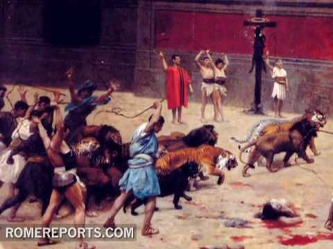 Rome commemorates martyrs from the first persecution - YouTube