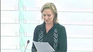 Marietje Schaake on review Conference of the Rome Statute of the ICC