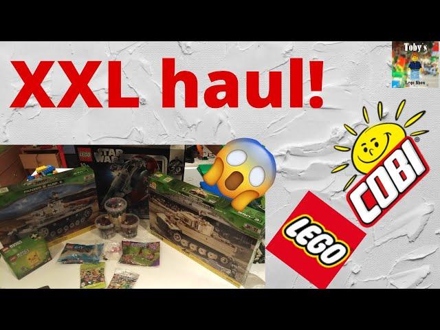 Haul of fame  Vol. 1 XXL (LEGO® & COBI)