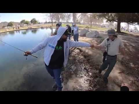 Fishing The Super Pressured Rancho Jurupa Park Pond For Rainbow Trout