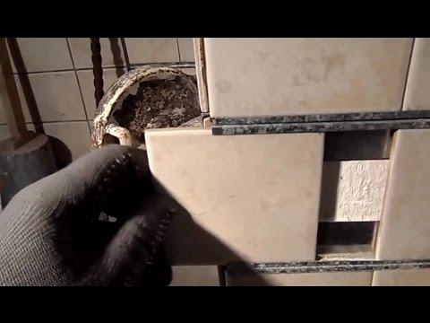 Мой способ облицовки плиткой старой дачной печи  своими руками Дачный мастер на все руки