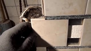 видео Отделка печи плиткой своими руками