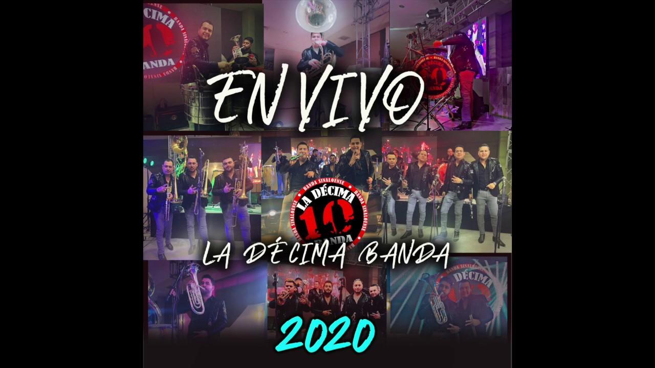 La Décima Banda En vivo 2020  (Disco completo)