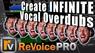 Create DOUBLE tracks & PERFECT OVERDUBS with REVOICE PRO 4 by Synchro Arts