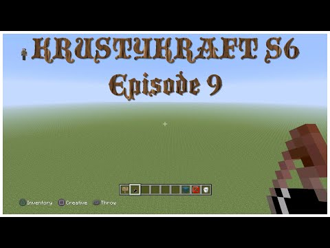 Let's Play KRUSTYKRAFT S6 Minecraft PS4 Designing our Castle & 700 Subscribers! (9) #Roadto1000
