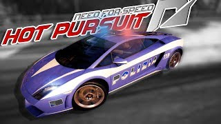 LAMBORGHINI POLICE CAR?! - Need for Speed Hot Pursuit Police Chases and Crashes Gameplay