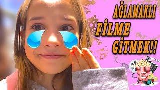 Ağlamaklı Filme Gitmek Vlog. Benimle Hazırlan Ecrin Su Çoban