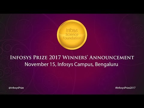 Infosys Prize 2017 Announcement