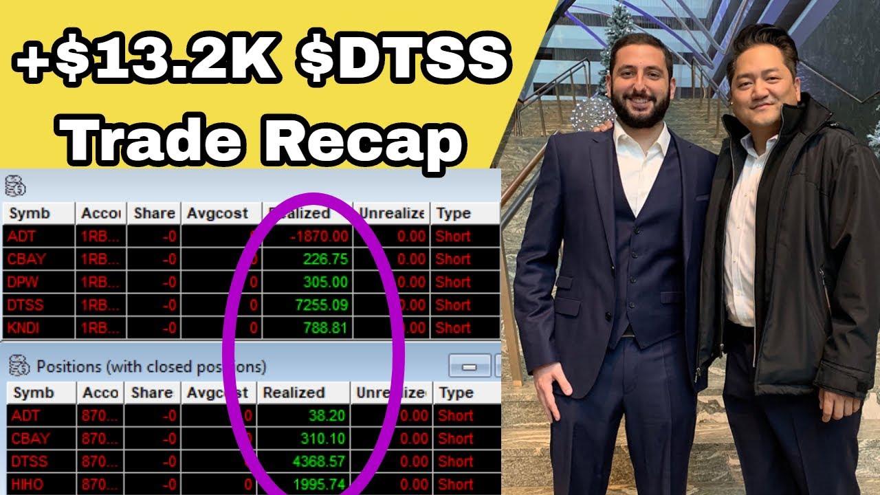 Download +$13.2K DTSS Pump & Dump | HIHO Deathline Trade EXPLAINED + New Broker Partnership