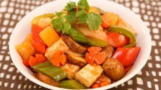 Sweet And Sour Tofu Stir Fry (dau Hu Xao Sot Chua Ngot)