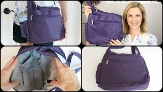 Travelon Classic Messenger Style Crossbody Bag Review & Tour