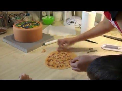 Оформление торта вафельной картинкой - Я ТОРТодел!