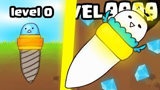 IS THIS THE MOST STRONGEST DRILL TANK EVOLUTION UPGRADE? (9999+ LEVEL) l Drill Evolution New Game