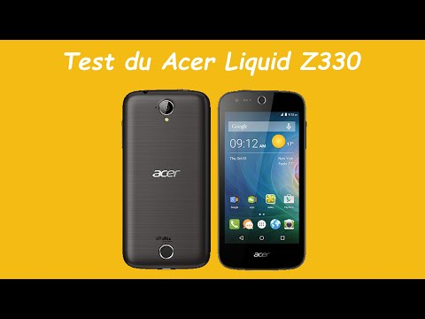 Acer Liquid Z330 Video clips