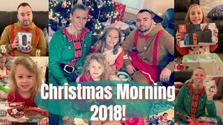 🎄CHRISTMAS MORNING 2018🎄 Opening Presents!!🎁