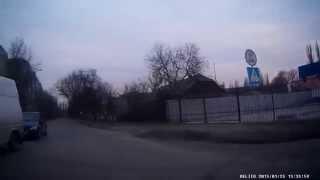 Объездная. Улицы Мелитополя. Видеорегистратор Aspiring GT-11. Видео Мелитополь.(, 2015-01-27T01:46:07.000Z)