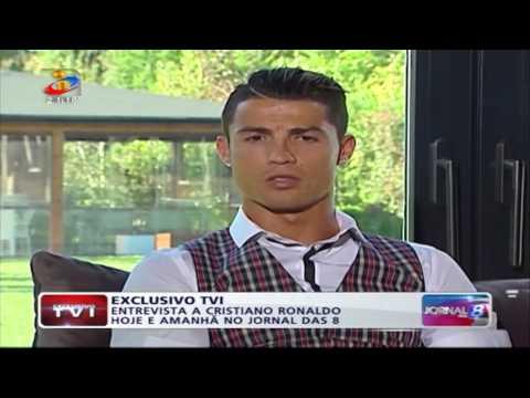 Entrevista completa a Ronaldo TVI - 1º Parte