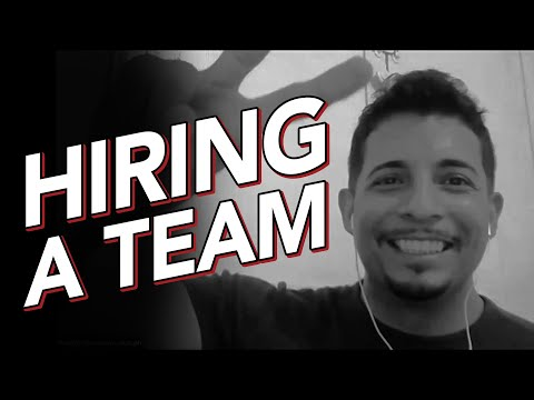 Hiring a Team For Your Small Business - Project Grow Show with Talented Mr. Salas