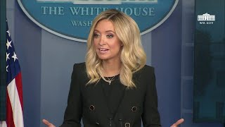 LIVE: Trump Press Secy Kayleigh McEnany Press Briefing