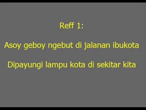 Lirik Mobil Balap ~ Naif