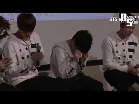 131019 BTS Episode   BTS Letter to ARMY in Birthday Party  (Eng Sub)