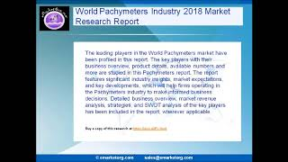 World Pachymeters Market Research Report 2018