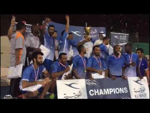 Winners of Kuwait Airways Travel Trade Football Tournament 2017