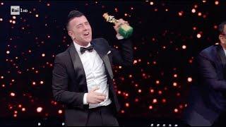 FRANCO RICCIARDI VINCE IL DAVID DI DONATELLO COME MIGLIOR CANZONE 21/03/18