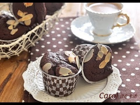 Yogurt  chocolate Muffin。優格巧克力馬芬