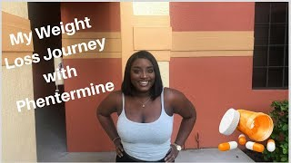 HOW TO LOSE WEIGHT FAST WITH PHENTERMINE // MY WEIGHT LOSS JOURNEY