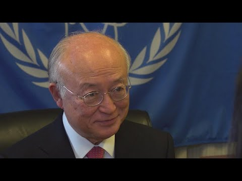 Nuclear watchdog chief on Iran