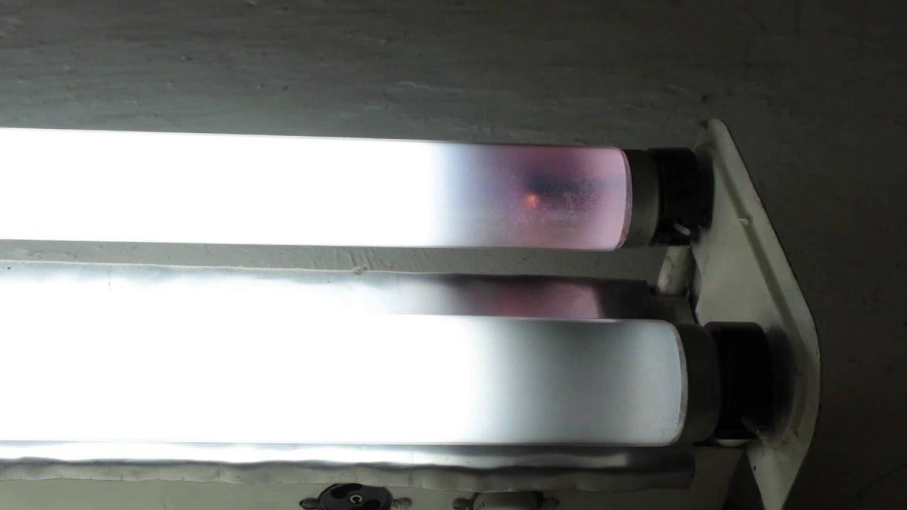 схема подключения лампы дневного светабез дросселя