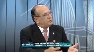 É Notícia:  Gilmar Mendes, ministro do STF (2)