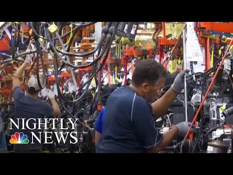 U.S. Businesses Caught In Crossfire Of Trade War  NBC Nightly News