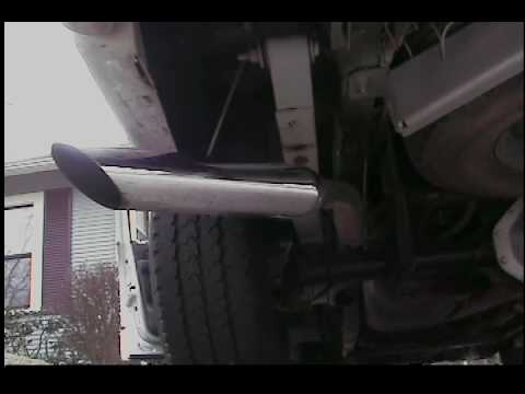 Ram 1500 Exhaust >> Dodge Ram 1500 3.7 V6 Dual Exhaust - YouTube