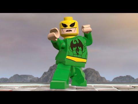 LEGO Marvel Super Heroes 2 - Iron Fist - Open World Free Roam Gameplay (PC HD) [1080p60FPS]