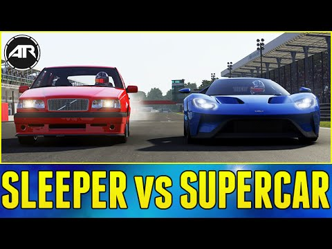 Forza 6 Online : SLEEPER vs SUPERCAR CHALLENGE!!! - YouTube on