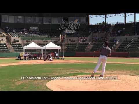 LHP Malachi Lott Gregory Portland High School Class of 2021