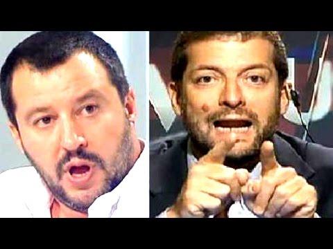 Matteo Salvini vs Andrea Romano deathmatch