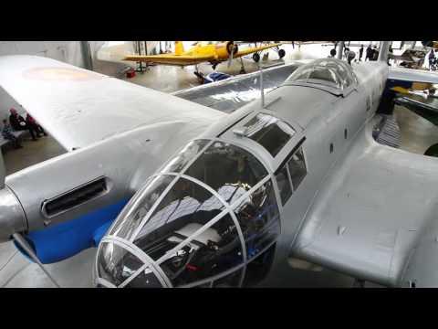CASA 2.111 medium bomber static display walkaround