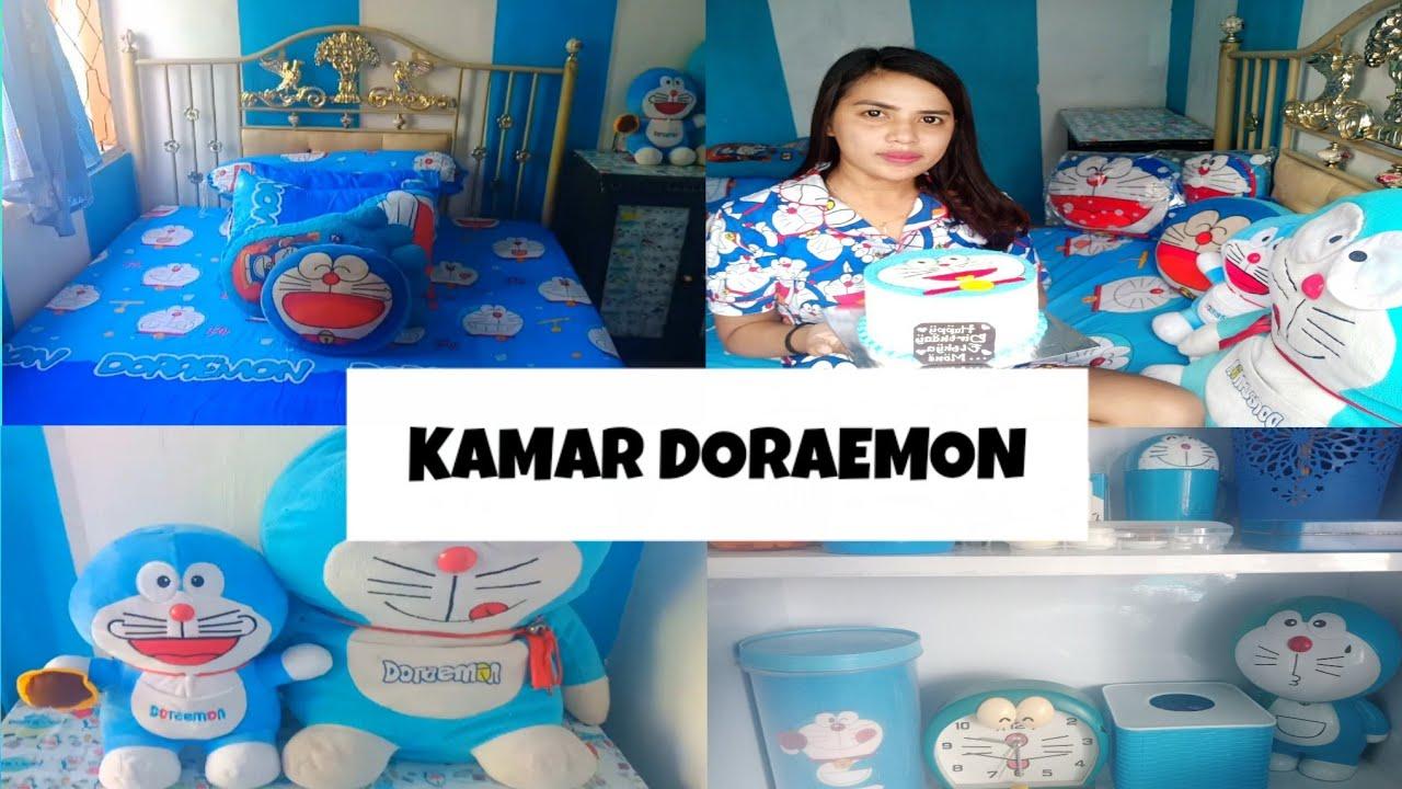#7 ROOM TOUR // KAMAR DORAEMON SEDERHANA - YouTube