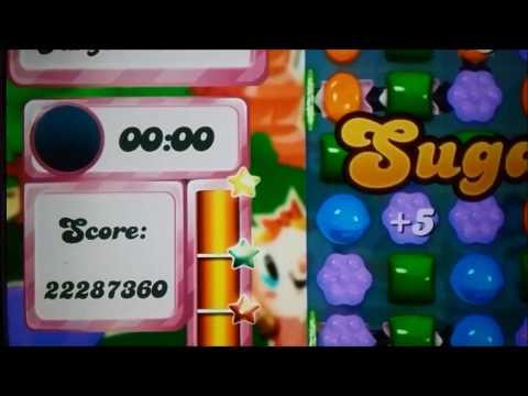 Candy Crush Saga level 1955, the highest score ever