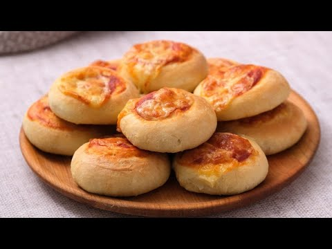 Fluffy mini pizzas a bite sized version of pizza that makes for a fun and unique appetizer