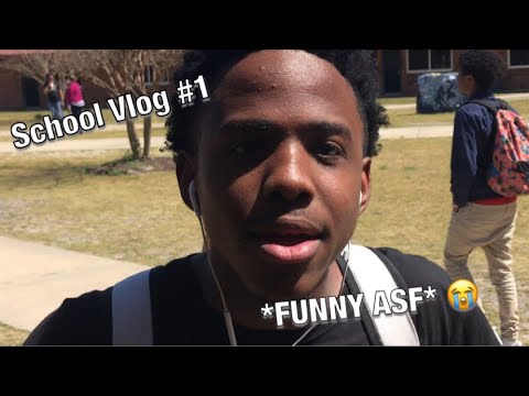 My First School Vlog  *FUNNY ASF* ????????