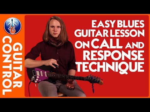 Easy Blues Guitar Lesson on Call and Response Technique