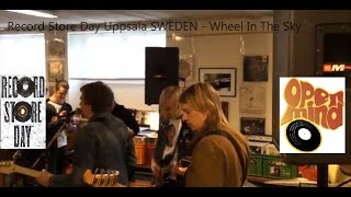 Record Store Day 2015! Wheel In The Sky - Rainbow of Evil @ Open Mind Records, Uppsala Sweden